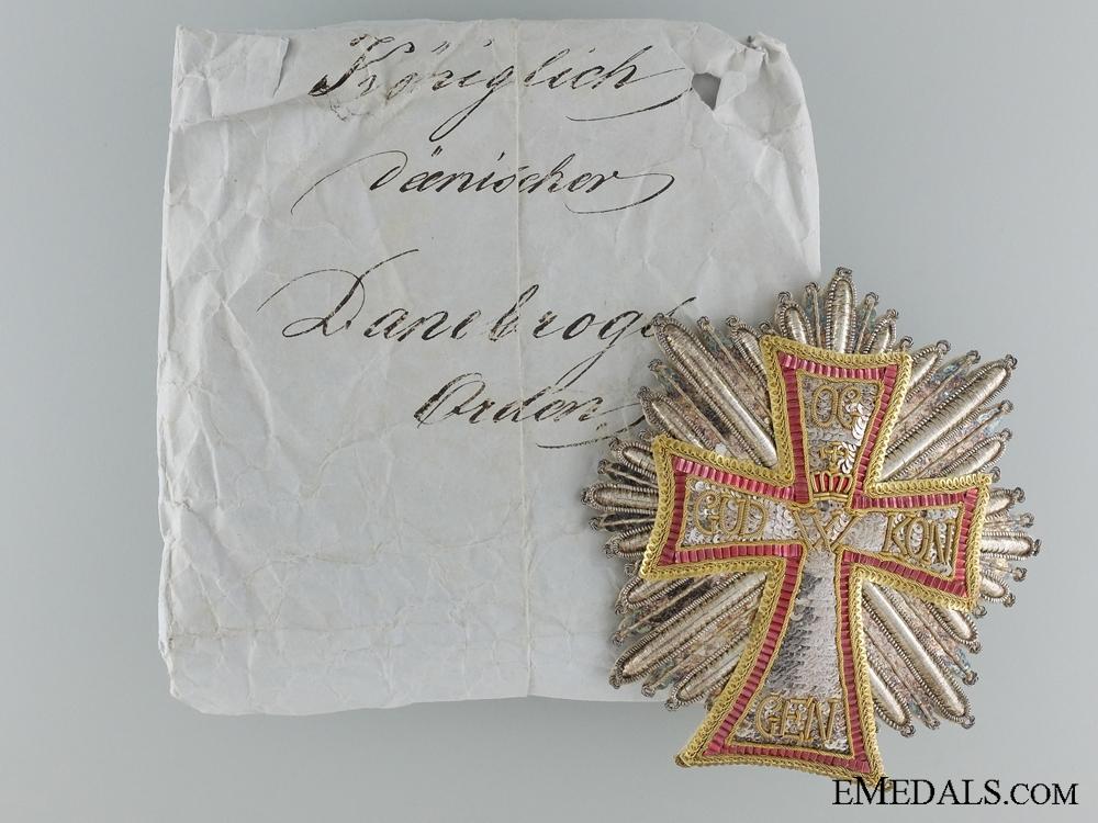 eMedals-An Order of Dannebrog to Count Maurice Joseph Dietrichstein