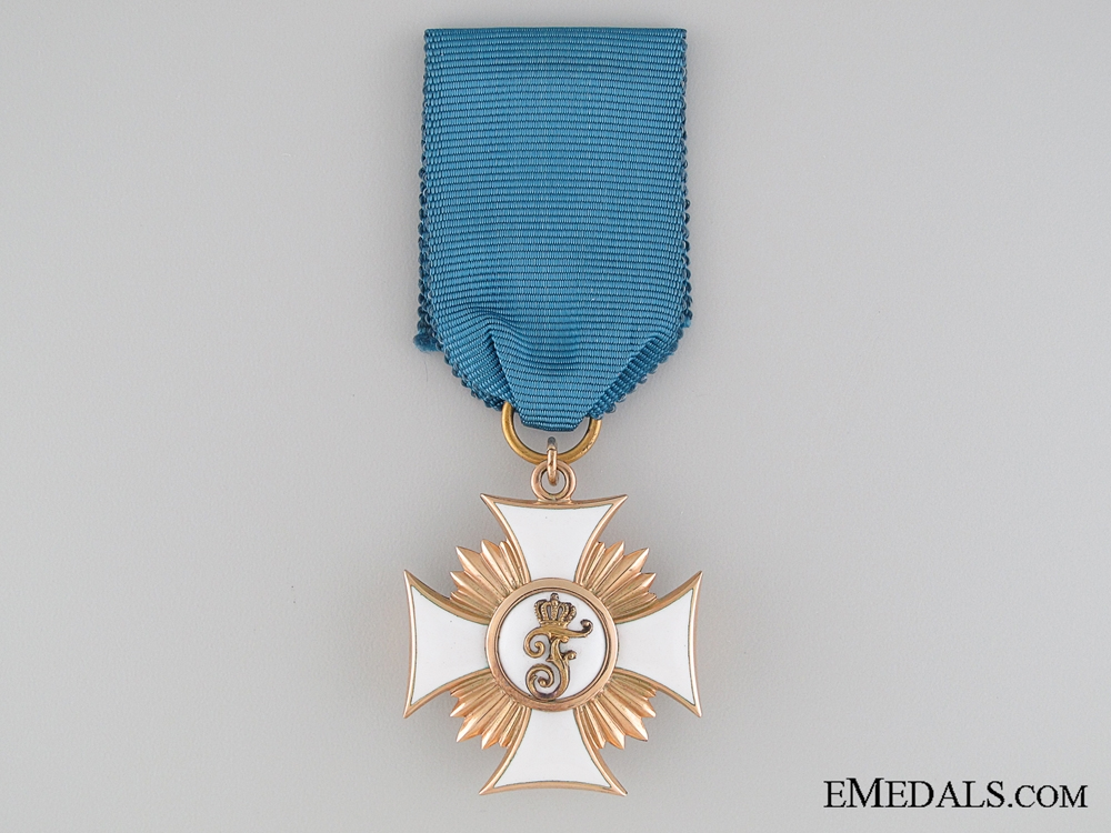 eMedals-The Order of Friedrich of Württemberg in Gold