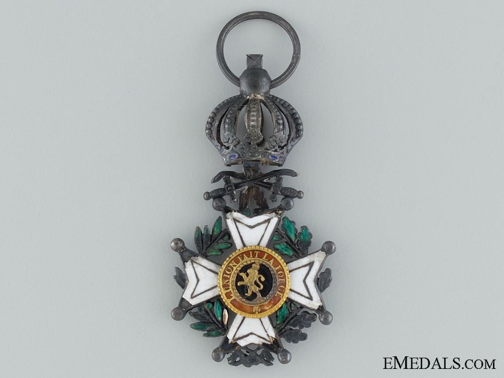eMedals-The Order of Leopold; With swords
