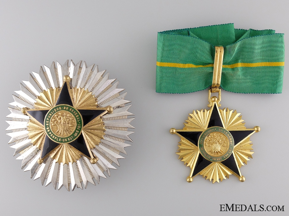 eMedals-The Order of National Merit of Senegal