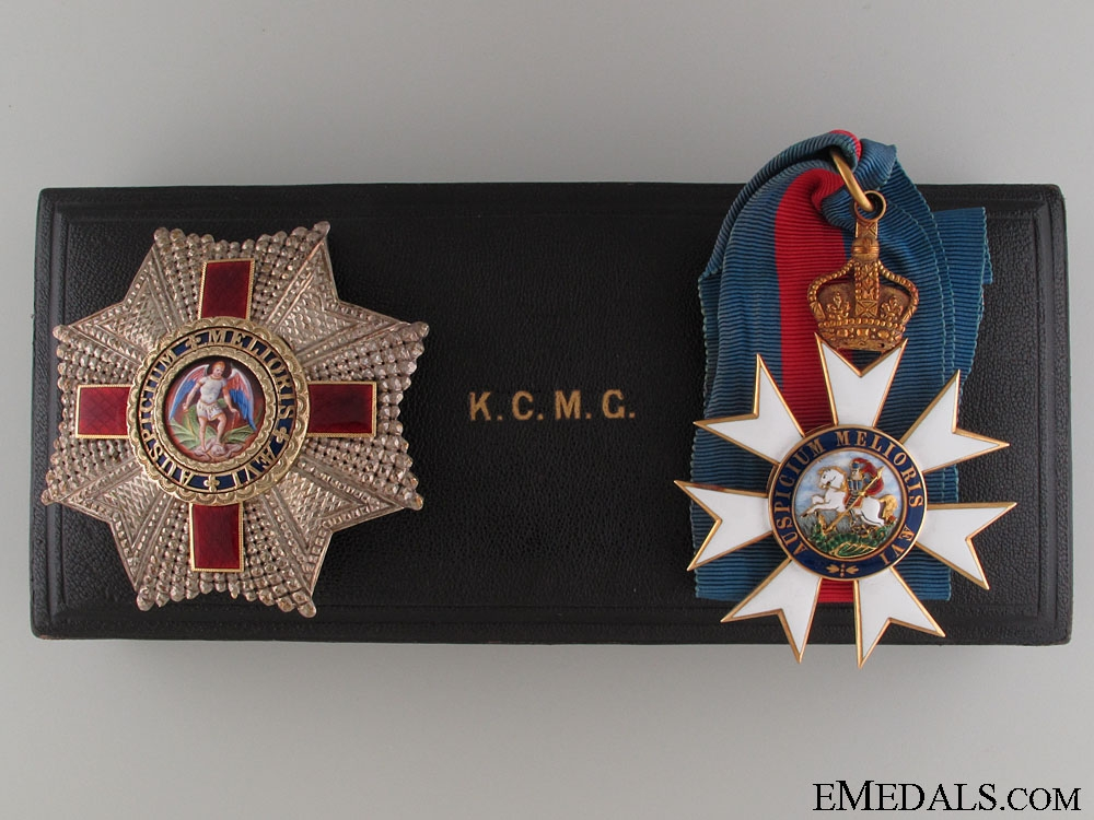 eMedals-The Order of St.Michael & St.George (K.C.M.C.)