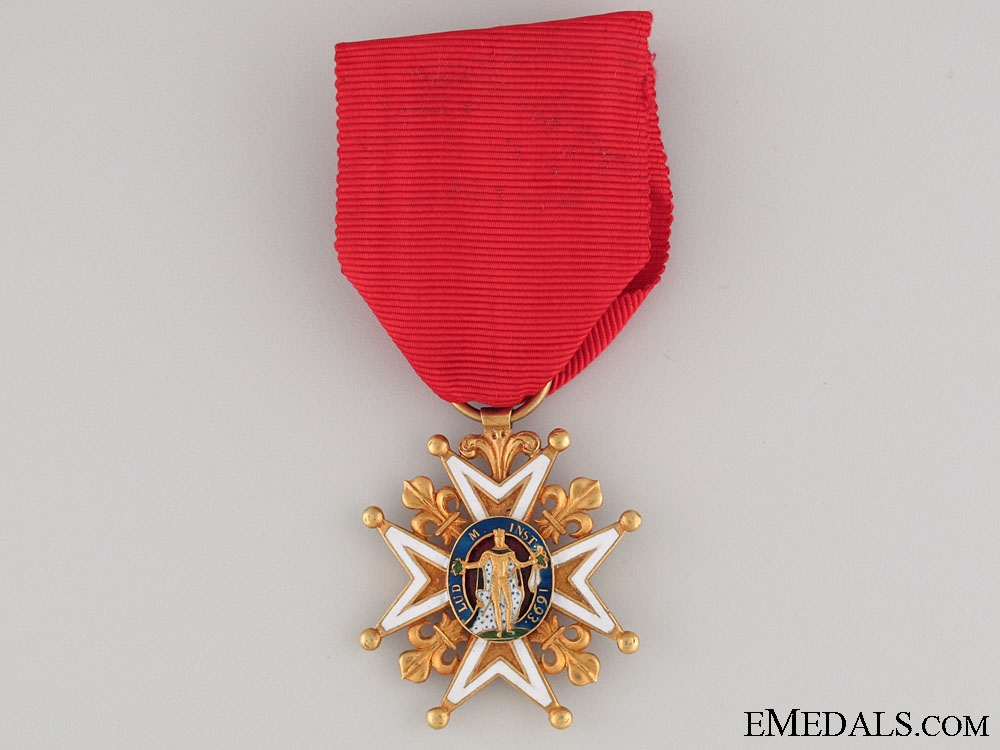 eMedals-A French Order of St. Louis in Gold; Knight c.1815