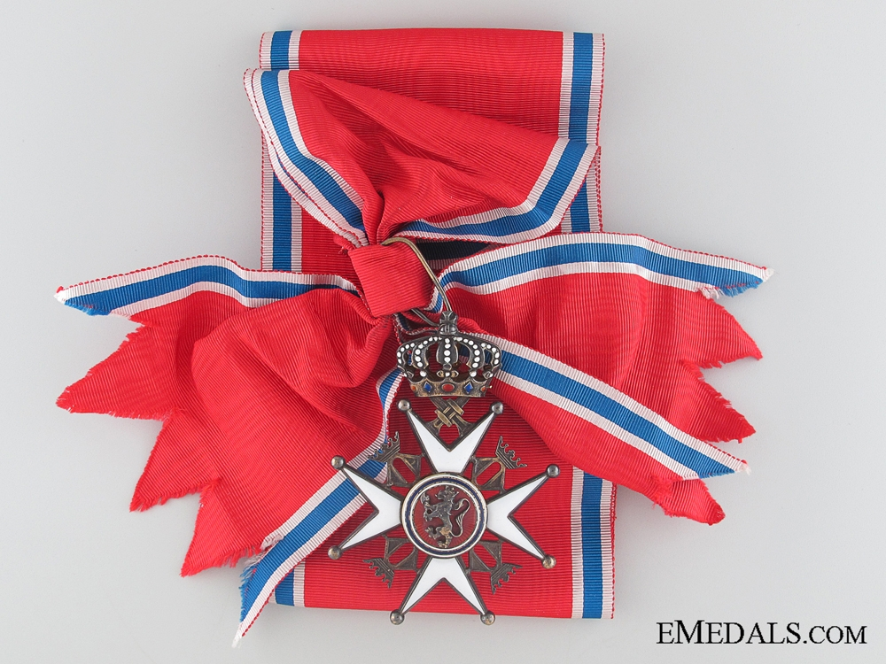 eMedals-The Order of St. Olav - Grand Cross