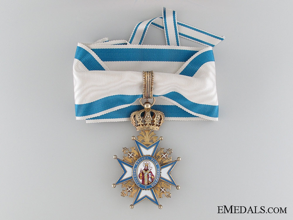 eMedals-The Order of St.Sava; Commander by Scheid of Vienna