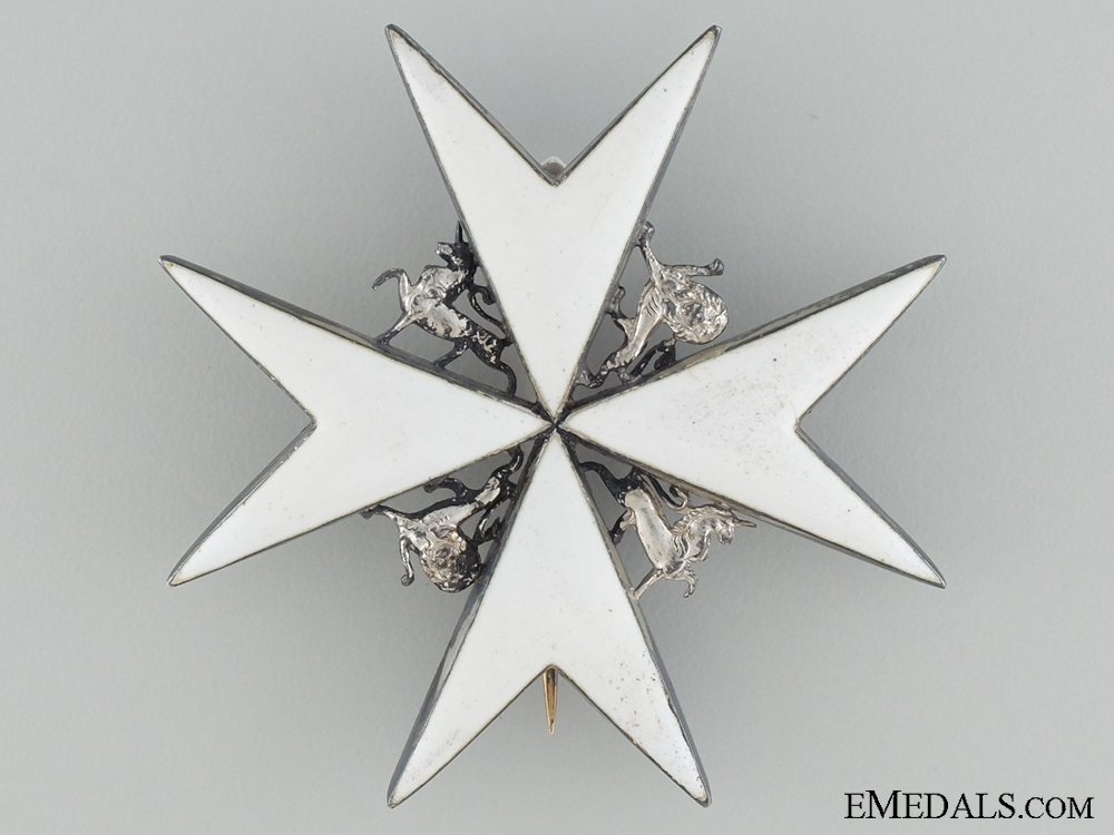 eMedals-The Order of St. John; Breast Star 1912-1926