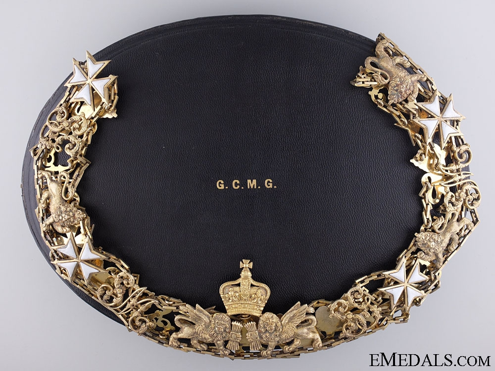 eMedals-The Order of St. Michael and St. George; Grand Cross Collar