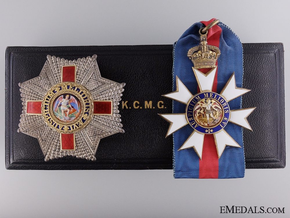eMedals-The Order of St.Michael & St.George (K.C.M.C.); Commander's Set