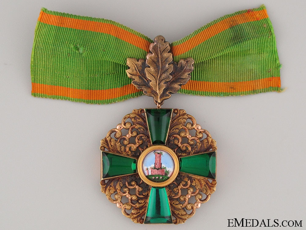 eMedals-The Order of the Zähringen Lion