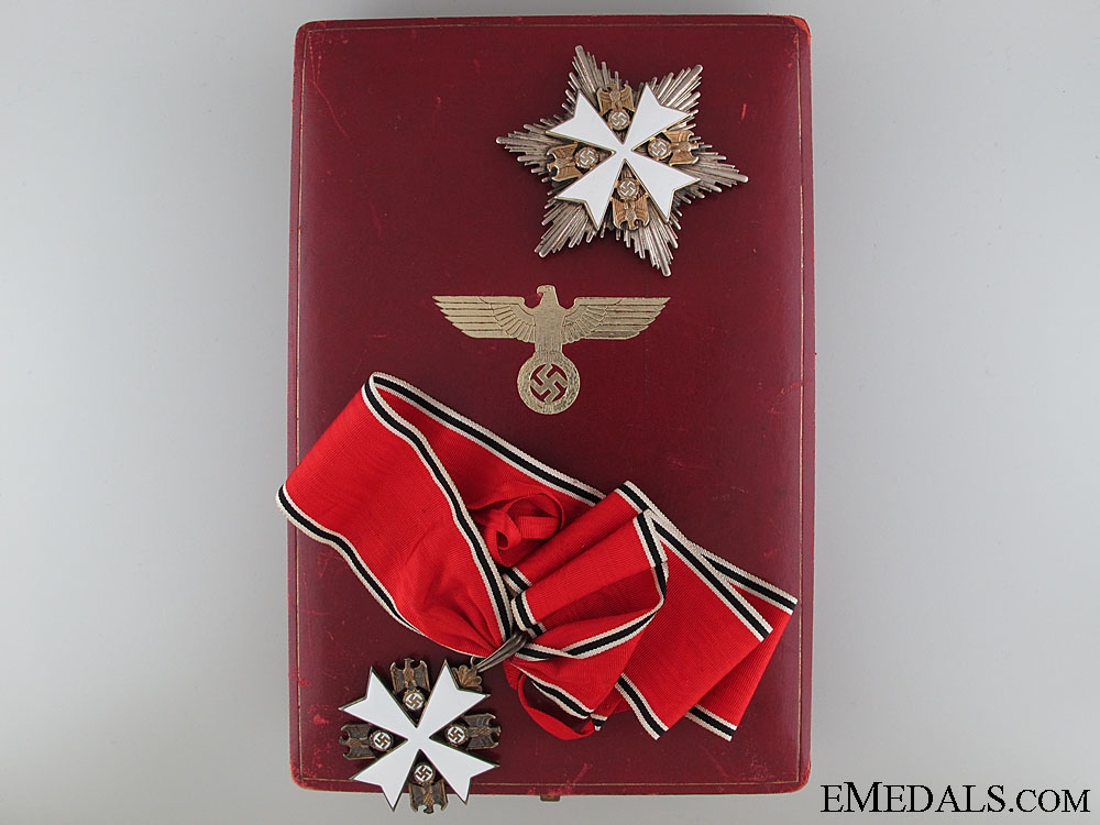 eMedals-An Order of the German Eagle by Godet; Second Class Set
