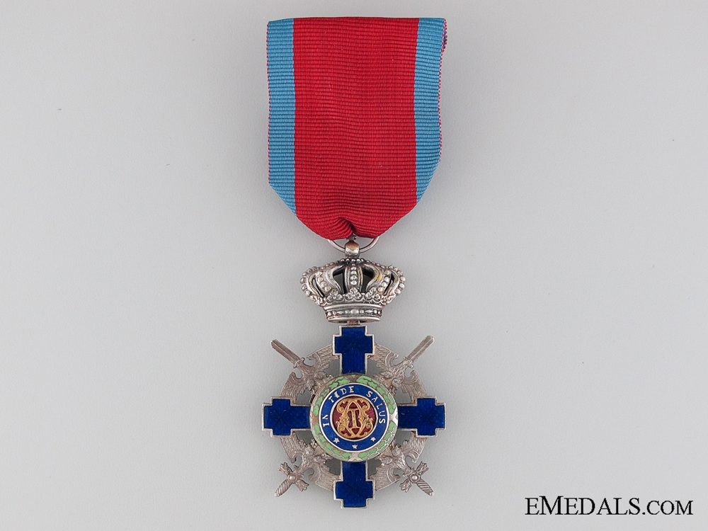 eMedals-The Order of the Star of Romania; Knight with Crossed Swords