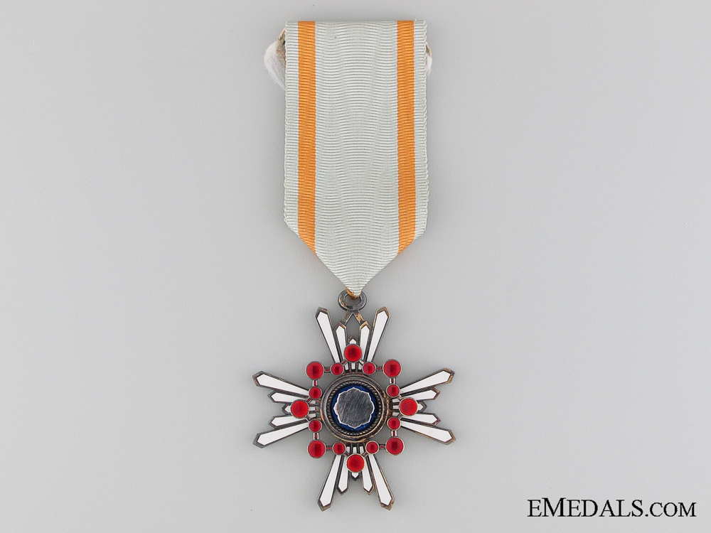 eMedals-The Order of the Sacred Treasure; Third Class