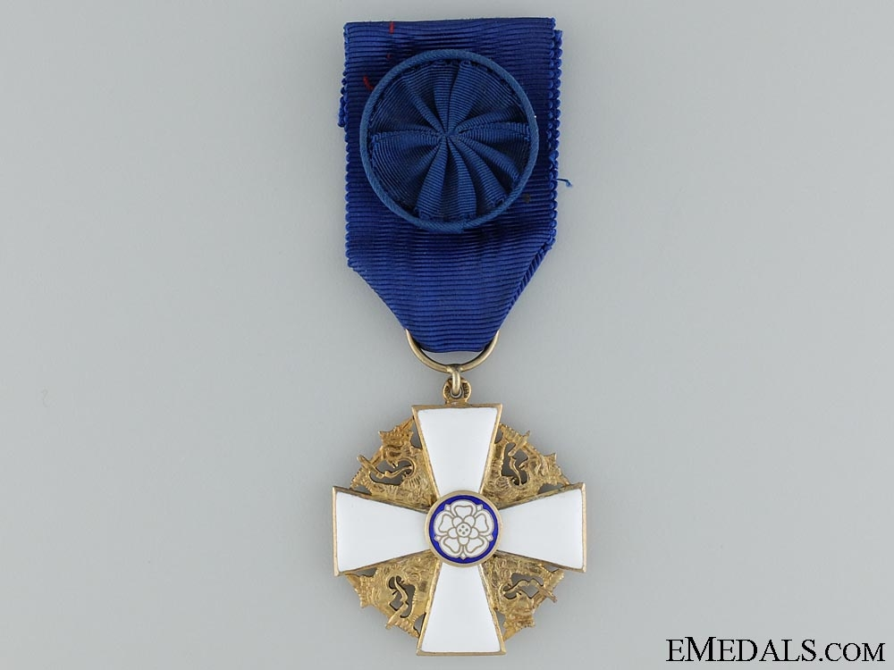 eMedals-The Order of the White Ross of Finland; Officer's Cross