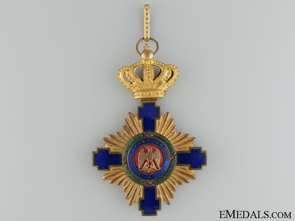 eMedals-The Order of the Romanian Star; Commander 1881-1932