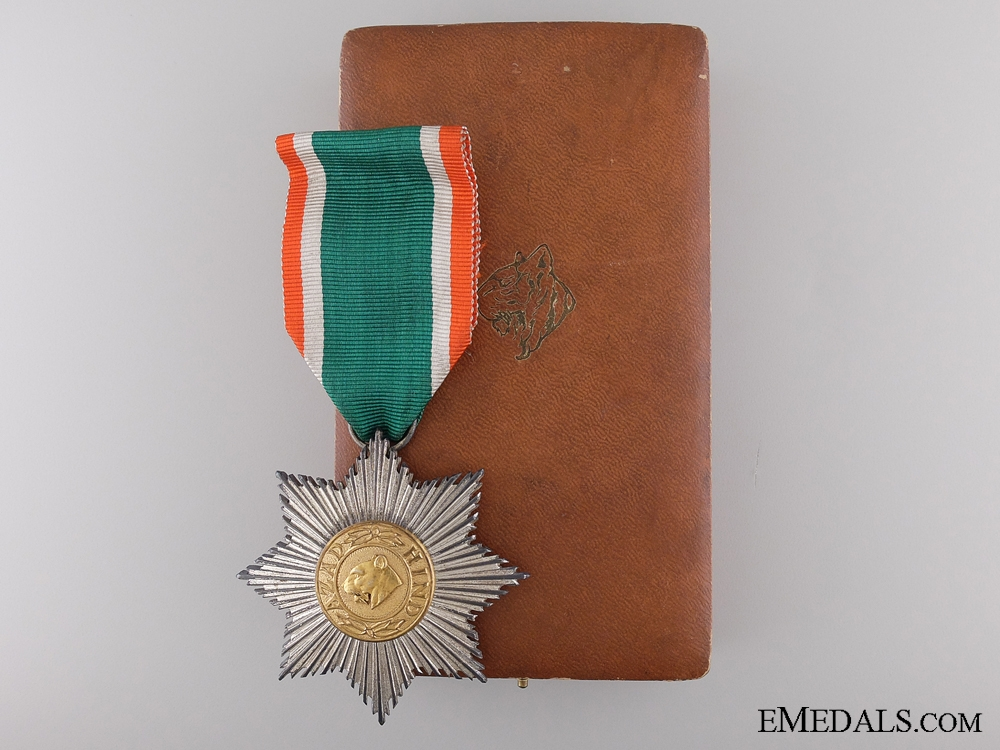 eMedals-The Order of the Tiger of India; Second Class
