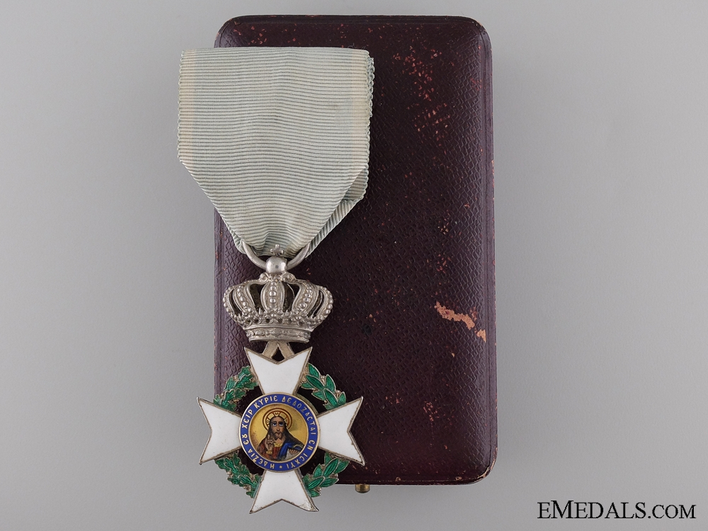 eMedals-The Order of the Redeemer; Knight by Georges Pomonis Athenes