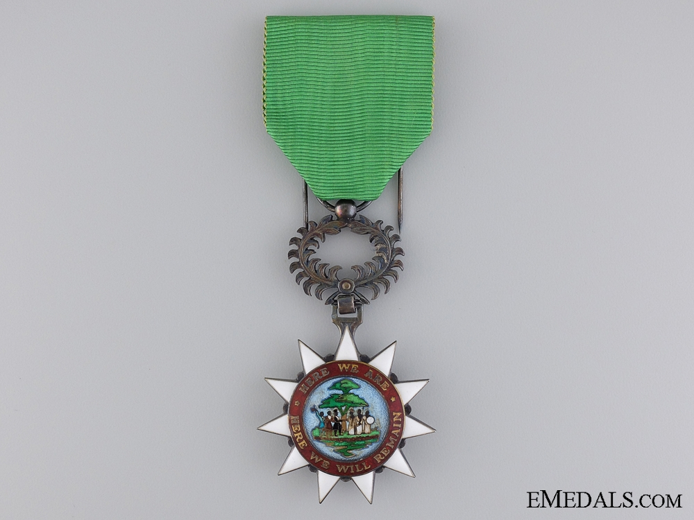 eMedals-The Order of the Pioneers of Liberia; Knight Badge