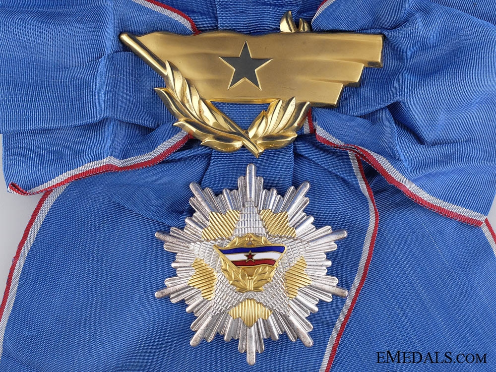 eMedals-The Order of the Yugoslav Flag; Grand Cross
