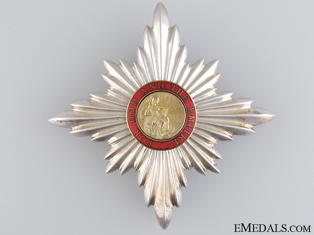 eMedals-The Order of the British Empire; K.C. Breast Star