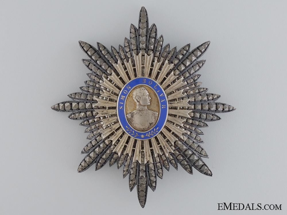 eMedals-The Order of the Liberator of Venezuela; Grand Cross Star