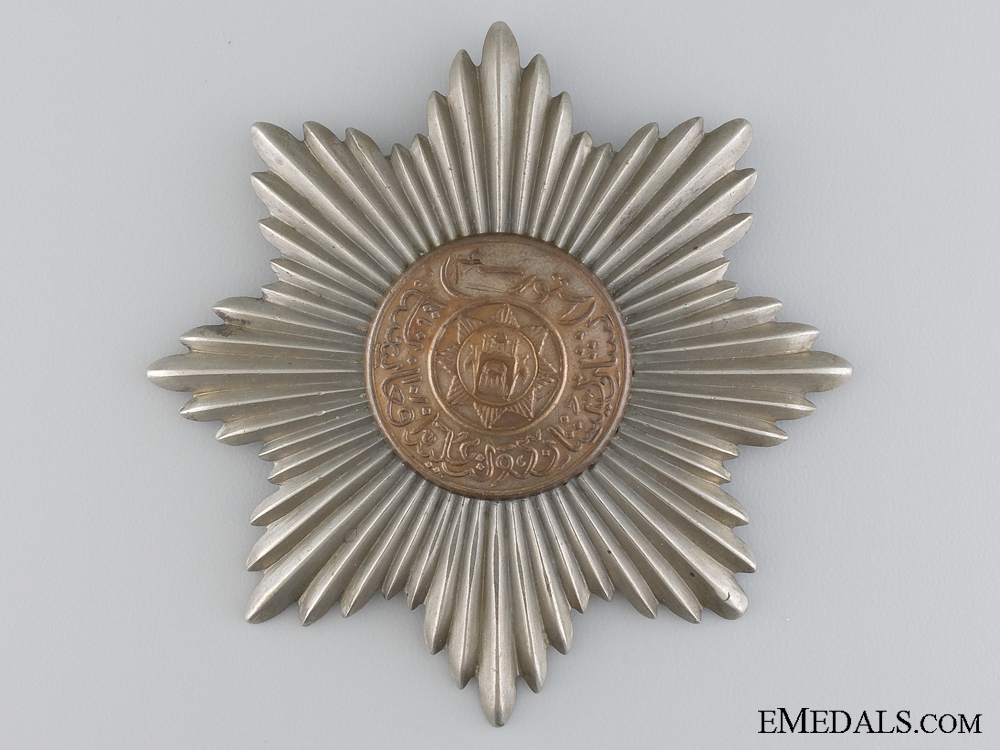 eMedals-The Order of the Afghan Throne; Fourth Class Star