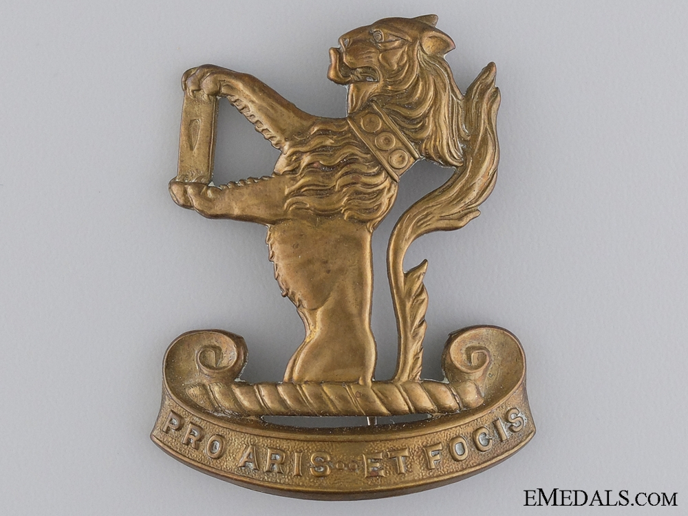 eMedals-The Peel & Dufferin Regiment Cap Badge
