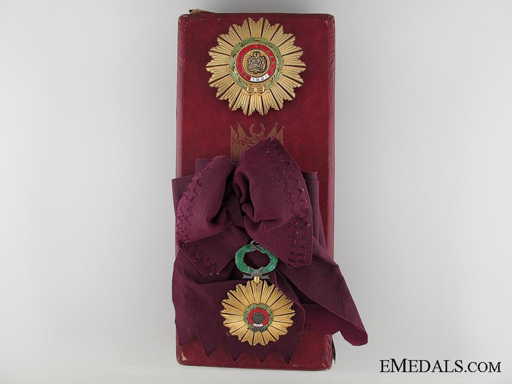 eMedals-The Peruvian Order of the Sun; Grand Cross