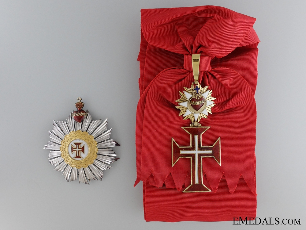 eMedals-The Portuguese Military Order of the Christ c.1900; Grand Cross