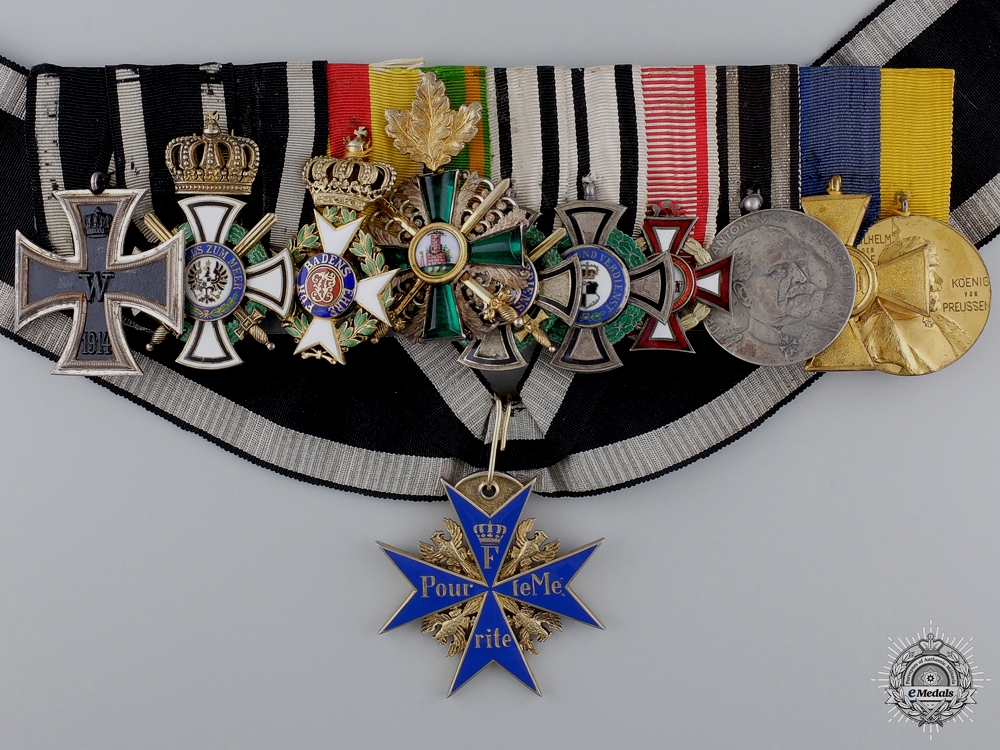 eMedals-The Pour-le-Merite & Awards to the Commander of 111th Regiment