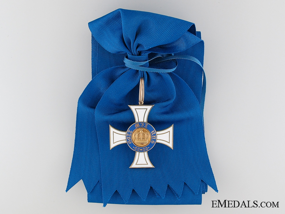 eMedals-The Prussian Order of the Crown in Gold; 1st Class 1867-1918