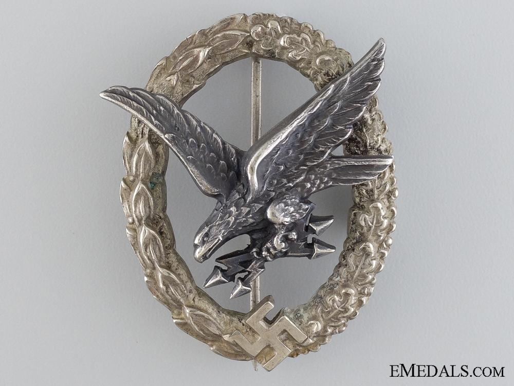 eMedals-The Radio Operator & Air Gunner Badge by C.E. Juncker, Berlin