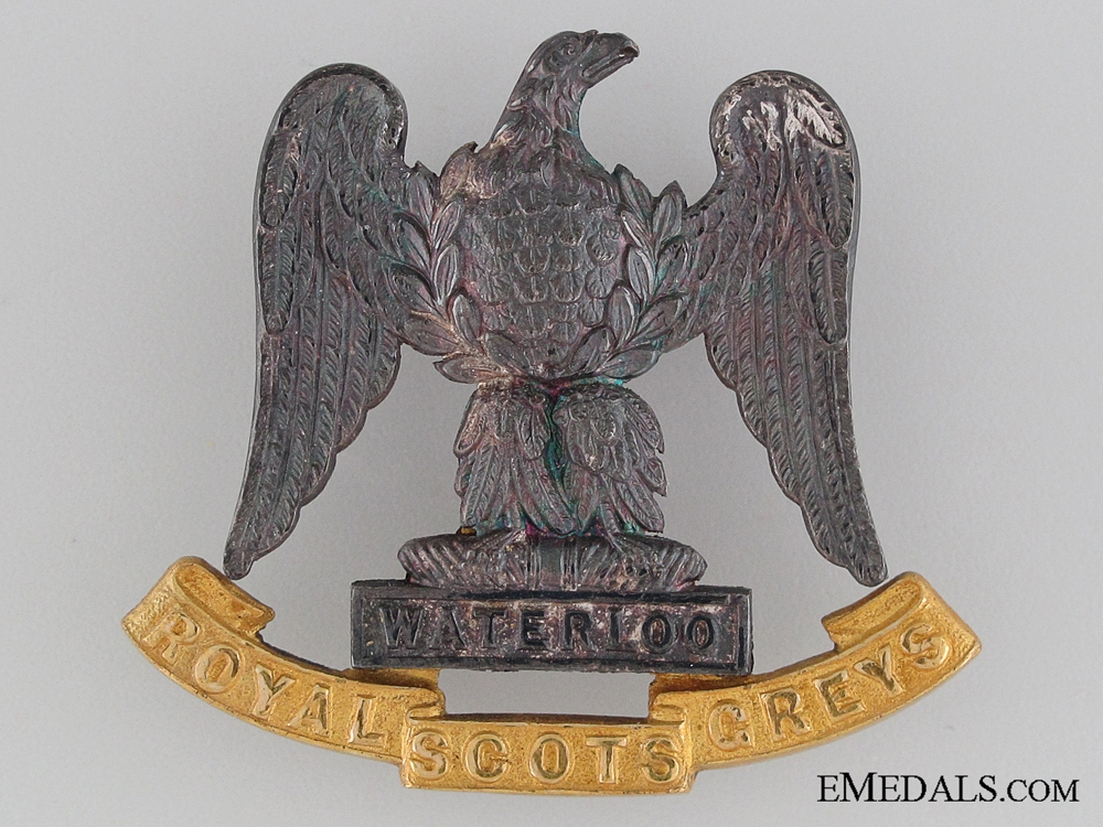 eMedals-The Royal Scots Greys Officer's Badge