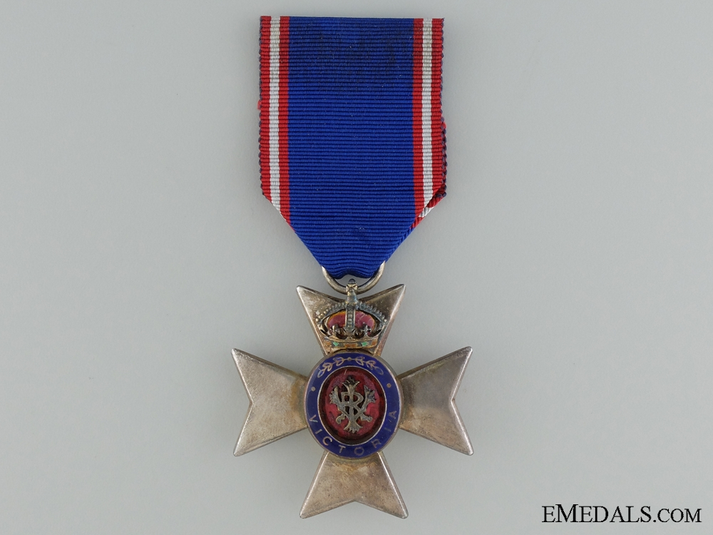 eMedals-The Royal Victorian Order; Member's Badge (M.V.O)