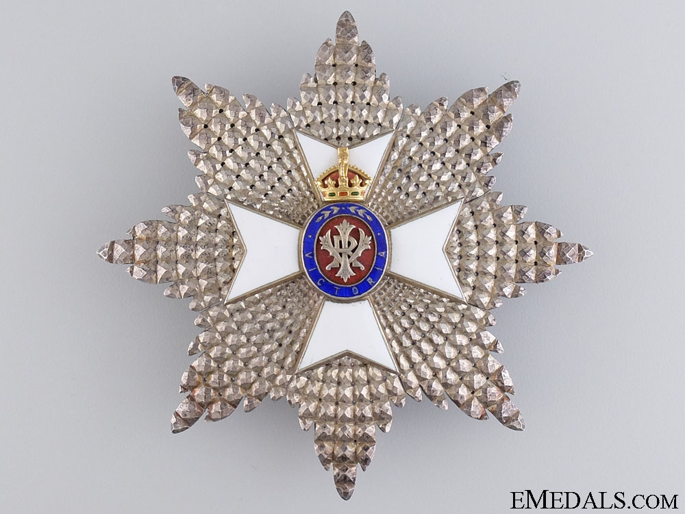 eMedals-The Royal Victorian Order G.C.V.O; Breast Star