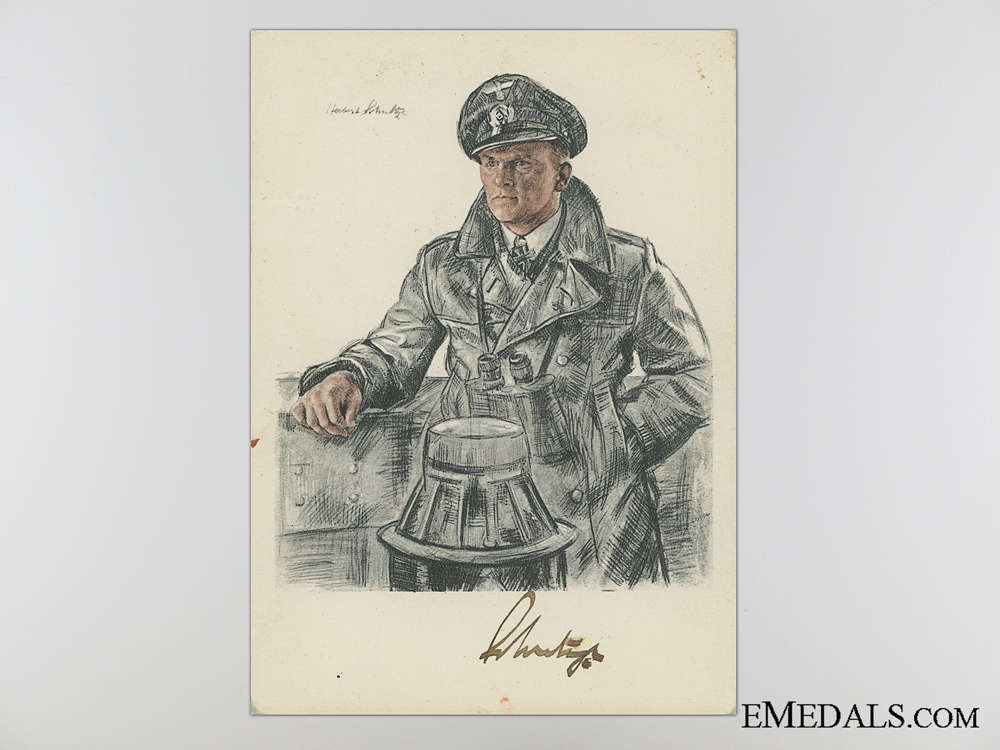 eMedals-The Signature of Admiral Doenitz