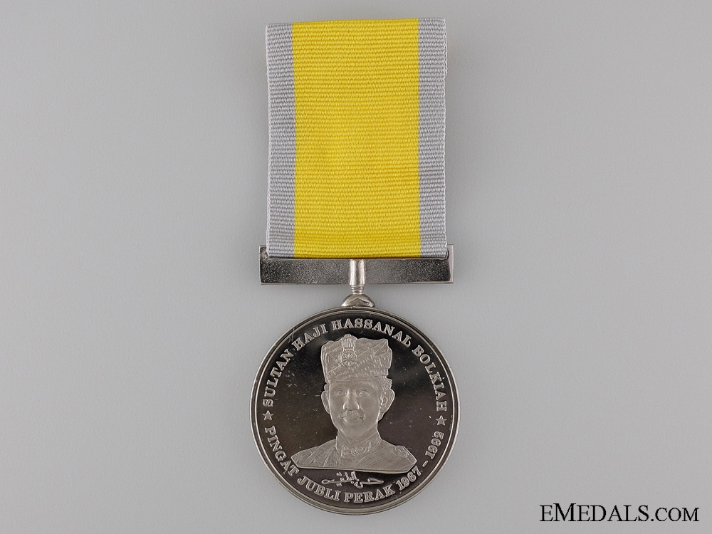 eMedals-The Sultan Haji Hassanal Bolkiah Silver Jubilee Medal 1967-1992