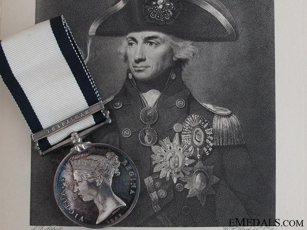 eMedals-The Trafalgar Medal to Boy John Moffitt