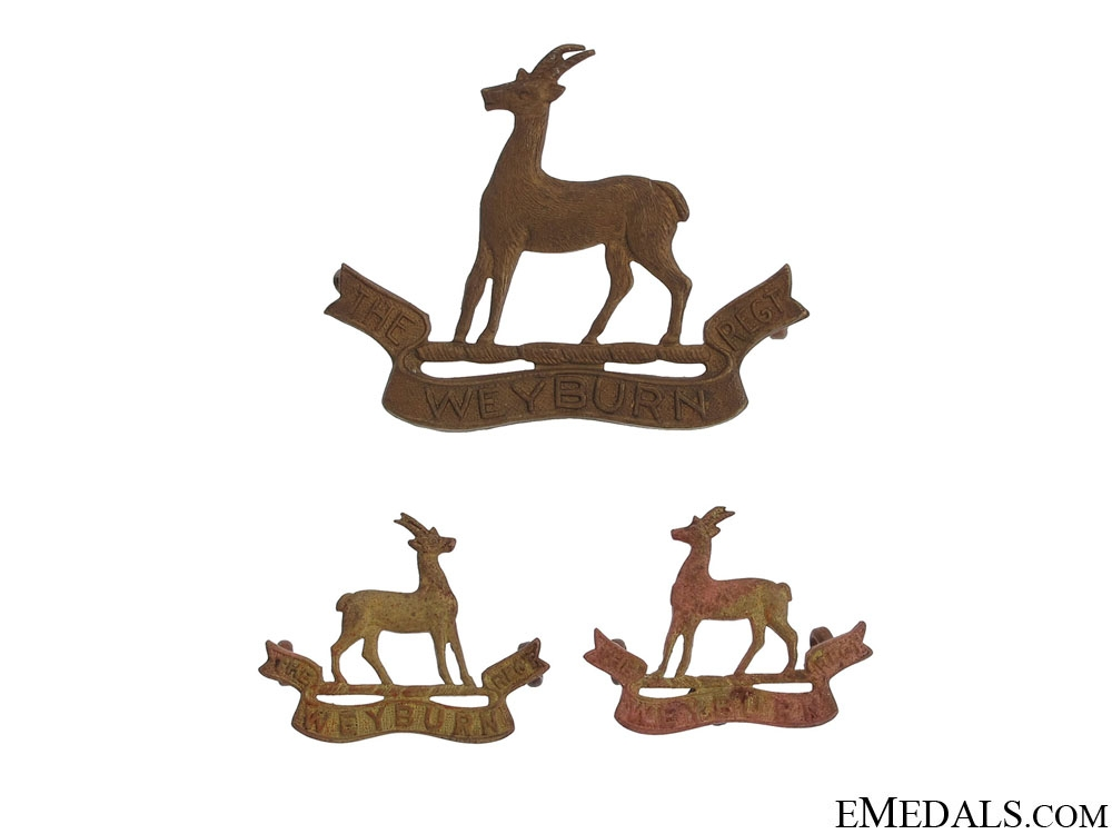 eMedals-The Weyburn Regiment Insignia