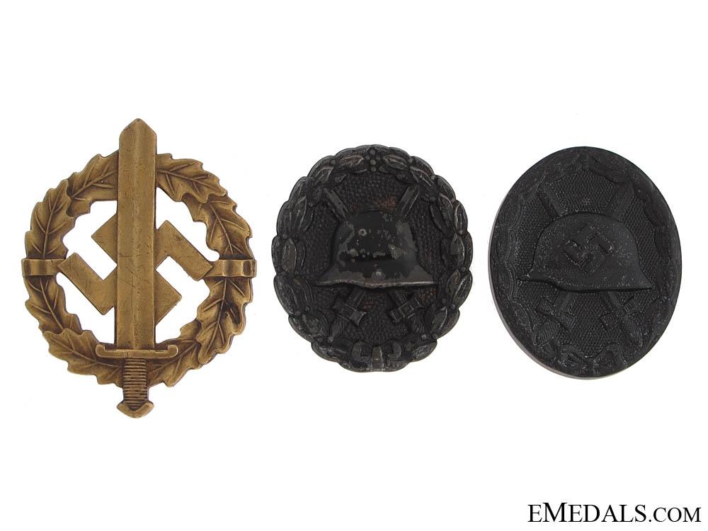 eMedals-Thre Third Reich Awards
