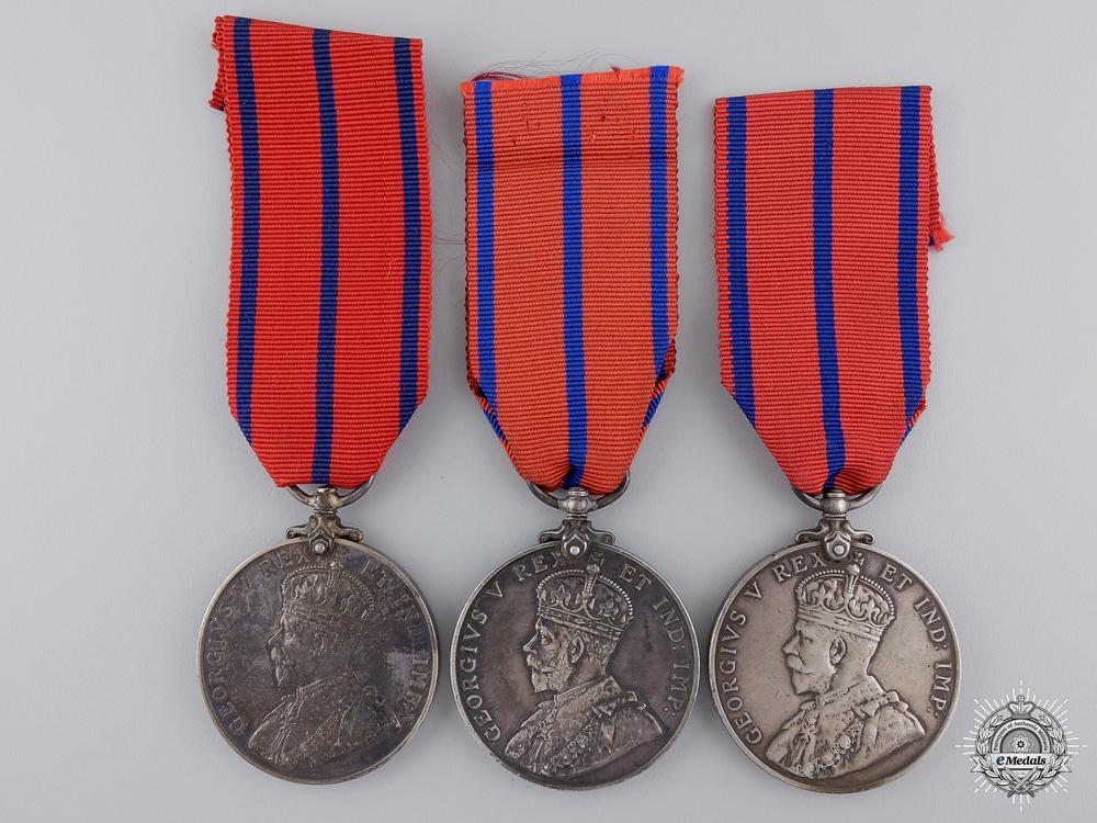 eMedals-Three 1911 Public Services Coronation Medals