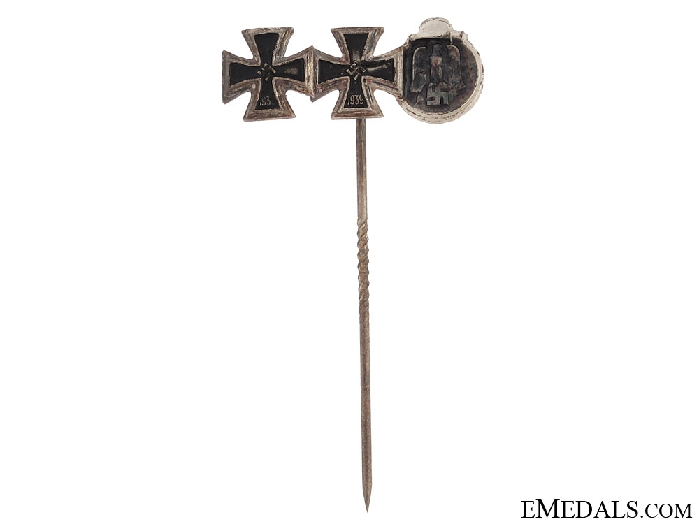 eMedals-Three Award Eastern Front Stickpin