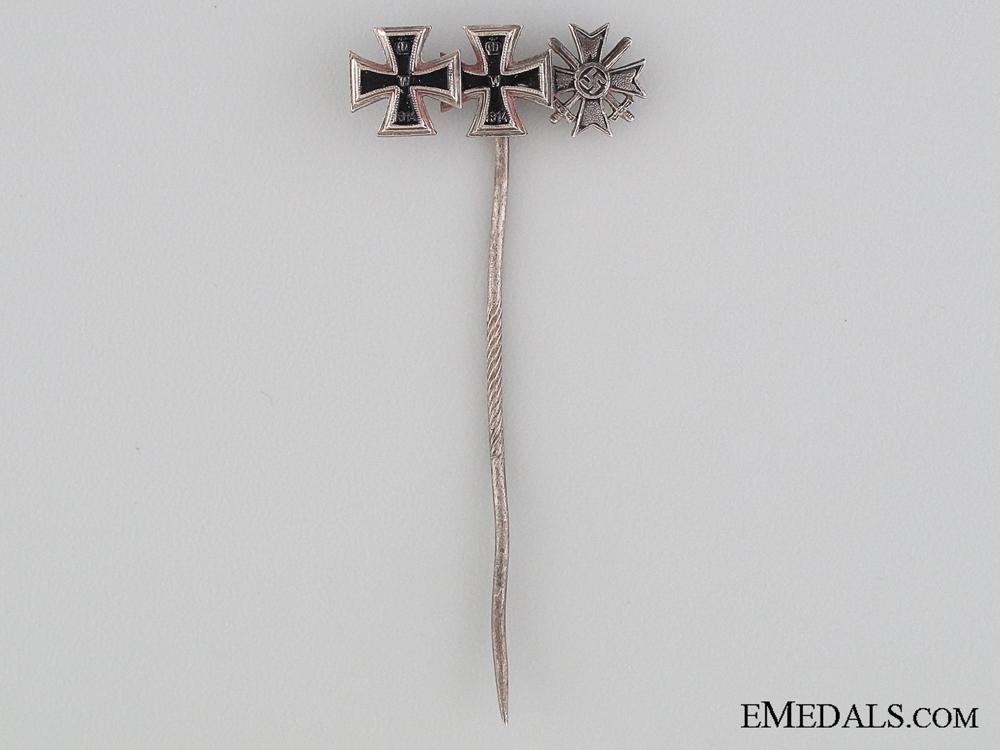 eMedals-Three Awards Stickpin