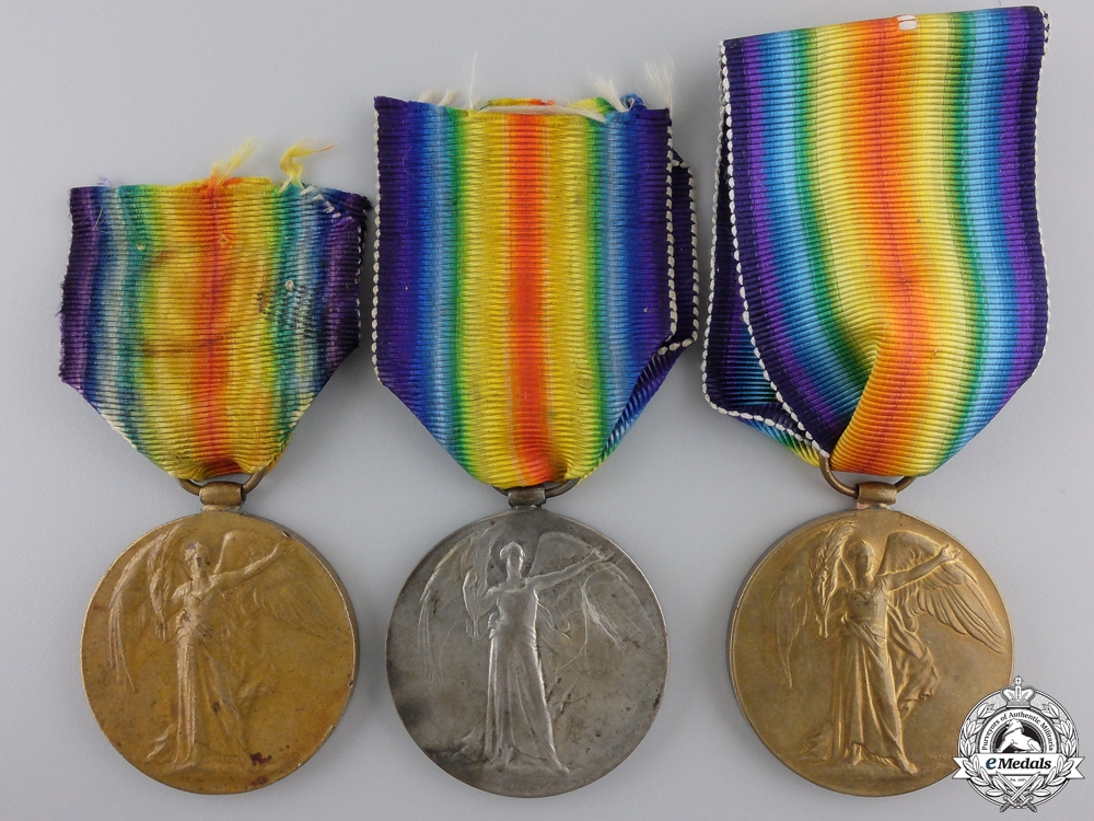 eMedals-Three British First War Victory Medals   Consignment #28
