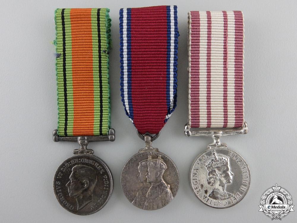 eMedals-Three British Miniature Medals