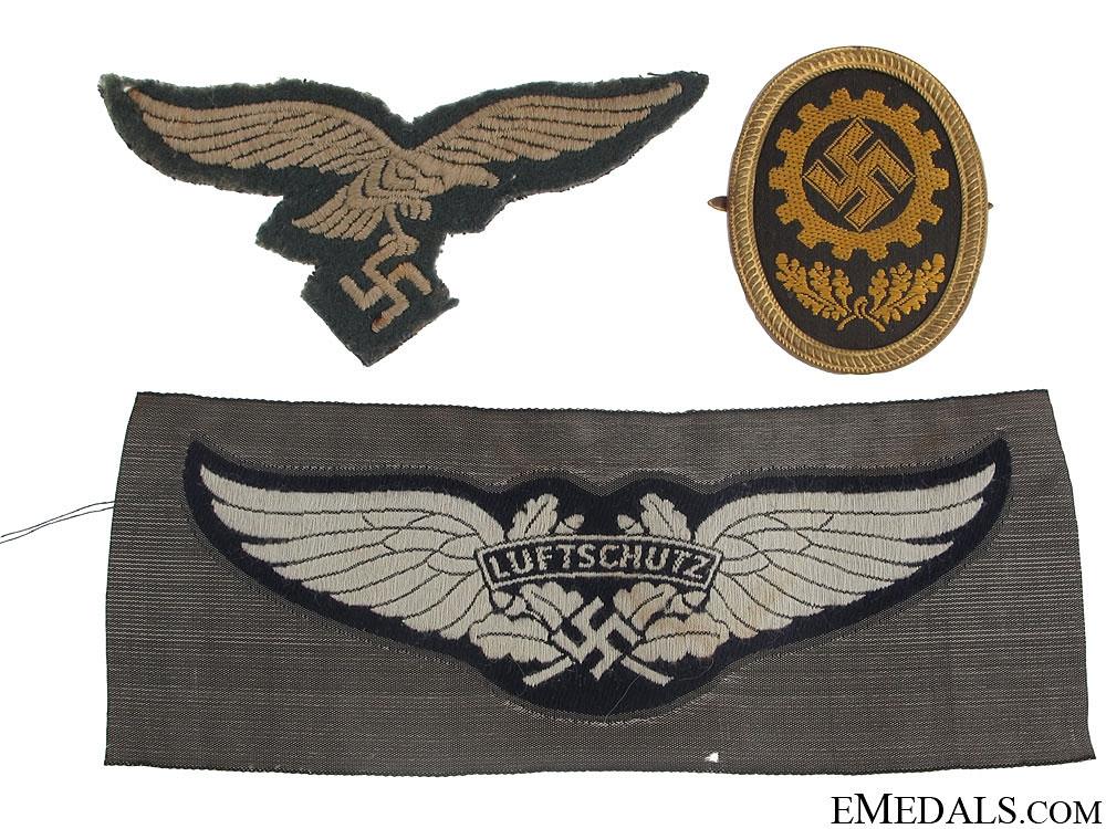eMedals-Three Cloth Badges/Insignia