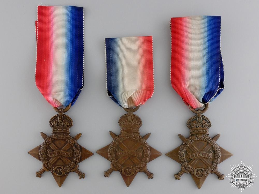 eMedals-Three First War British 1914-15 Campaign Stars