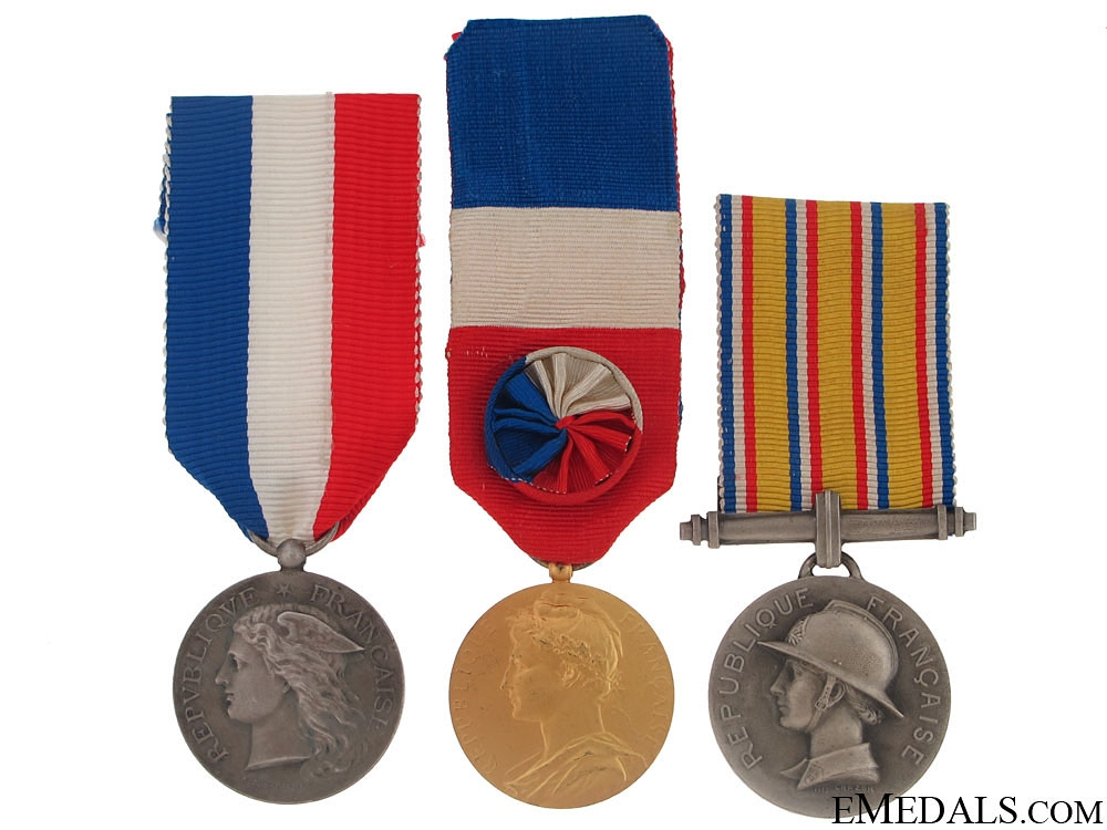 eMedals-Three French Honour Medals