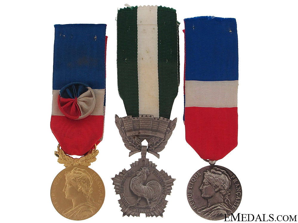 eMedals-Three French Honour Awards