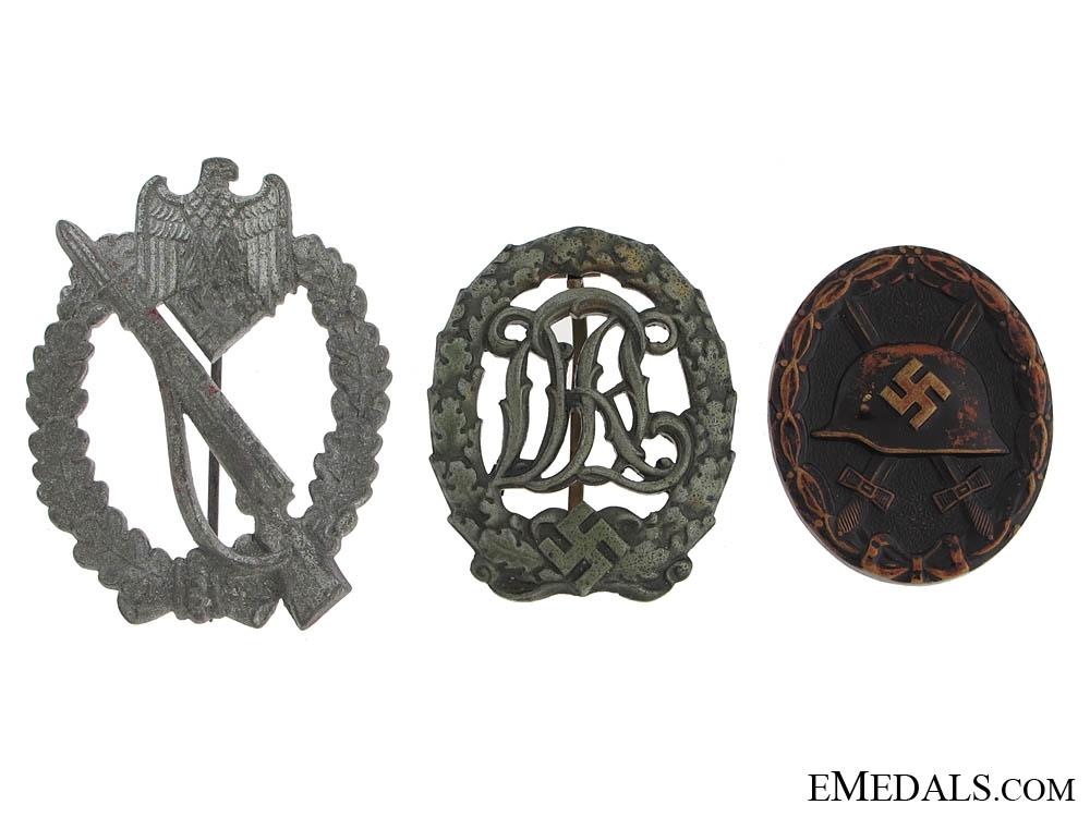 eMedals-Three German Badges