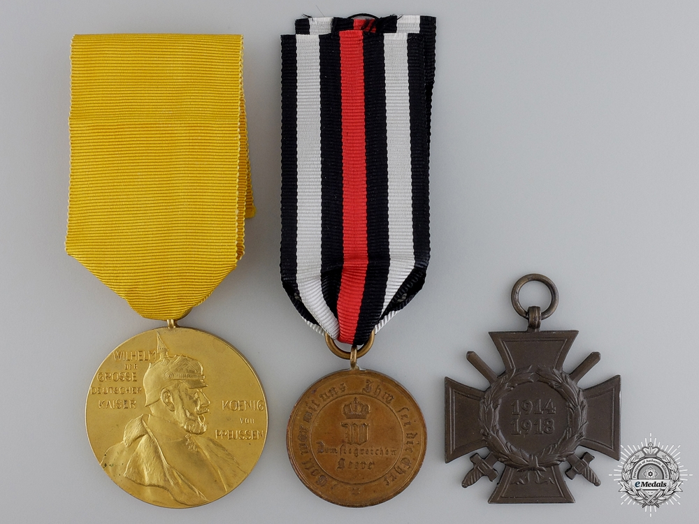 eMedals-Three German Imperial Awards