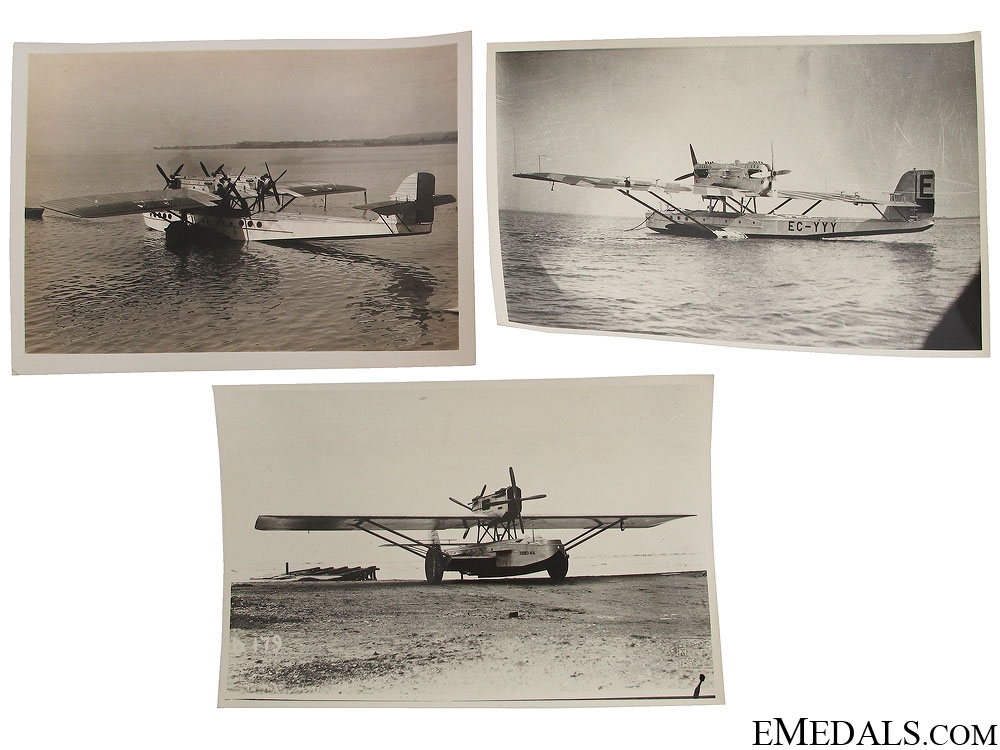 eMedals-Three German Seaplane Photographs